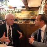 President Borsboom and HRH Prince Jaime de Bourbon de Parme