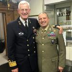Vice Adm Borsboom Matthieu and Col. D'Ortenzi Domenico