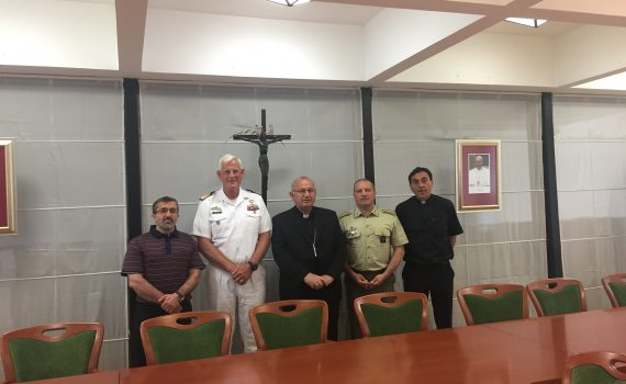 Meeting between Archbishop Bogdan and AMI committee