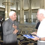 Gen. Sinn and Imam of Mosque in Rome