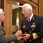 Gen. Sinn and Vice Adm Borsboom