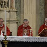 Bishops celebrating Holy Mass