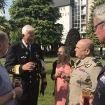 Apostolat militaire international in Lourdes with CHOD of Great Britain, Air Chief Marshall Sir Stuart Peach