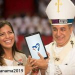 Ambar Calvo and the World Youth Day logo contest.