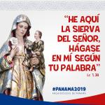 Santa Maria la Antigua: Hàgase en mì segun tu palabra