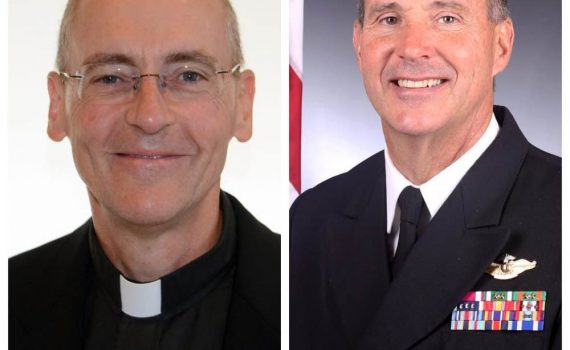 Father Muhum and Father Coffey