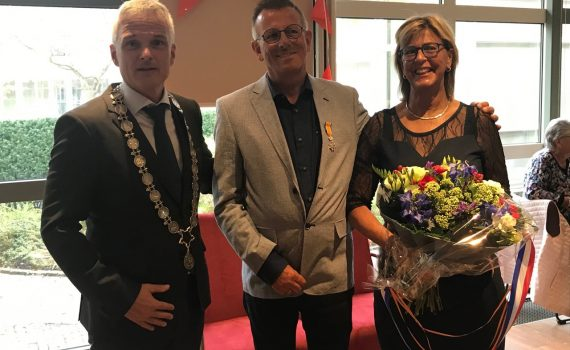 On April 26, 2019, Herman Vriesema, former treasurer of Apostolat Military International, received, in his hometown Ter Apel,  a Royal Award for his many activities as a volunteer!