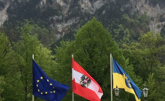 EU, Austria and Province where located the Castle of Reichenau