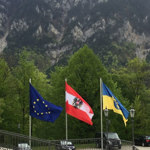 EU, Austria and Province where located the Castle of Reichenau